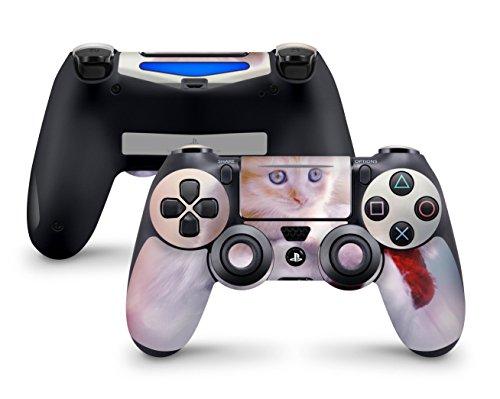 Skins4u® Skin Dein Bild als Design Aufkleber individueller Vinylsticker kompatibel mit Playstation 4 PS4 Controller