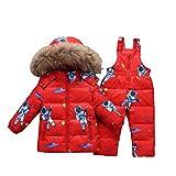 Lvguang Invierno Chaqueta de Plumón para Niños Abrigados 3-5 años Niños Niñas Abrigos y...