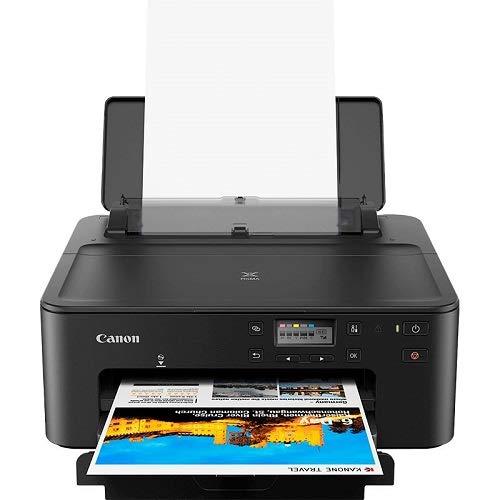 CANON PIXMA TS705 Tintenstrahldrucker - OHNE KOPIERER OHNE Scanner - USB, WLAN, LAN, Bluetooth - Duplex, CD/DVD Druck - inkl. einem kompatiblen Tintensatz und USB Kabel