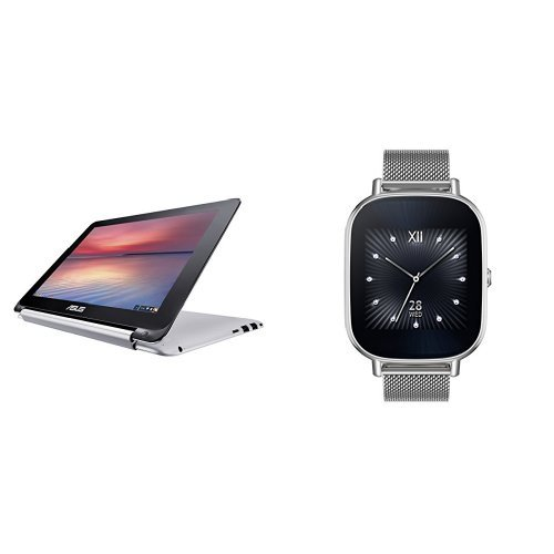 Chromebook and Zenwatch