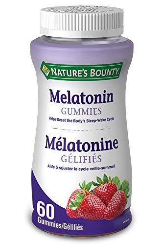Nature's Bounty Melatonin Supplement, Helps Reset Bodys Sleep-Wake Cycle, 2.5mg, 60 Gummies