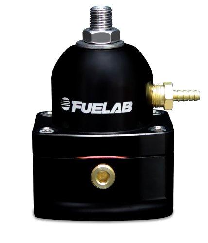 Fuelab 51501-1 Universal Black EFI Adjustable Fuel Pressure Regulator,Small