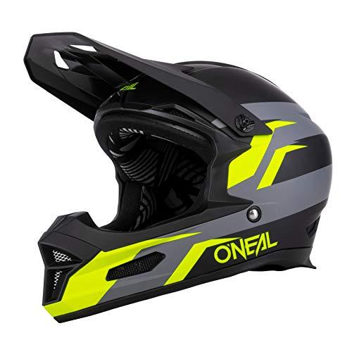O'NEAL | Casco da Mountainbike | MTB DH | Secondo lo standard di sicurezza EN1078, aperture di ventilazione per il raffreddamento, calotta esterna in ABS | Fury Helmet SOLID | Adulto | Nero | Taglia L