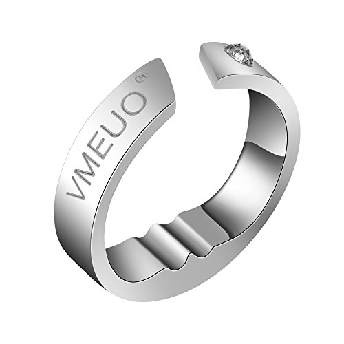 Stop Snoring Ring - Breathing Aid Snoring Device - Snoring Plug, Anti-Snoring Ring - Adjustable Size Ring, Suitable For Men And Women(M)