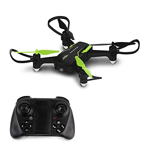 Slreeo Small Remote Control Drone, Aerial Photography Quadcopter Helicopter, Real-time Image Transmission 2.4GHz Aircraft Toy, APP Control, Air Pressure Fixed Height, Easy to Carry