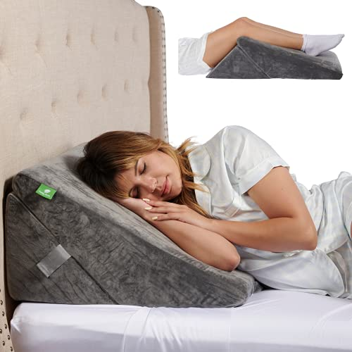Cushy Form Bed Wedge Pillow for Sleeping