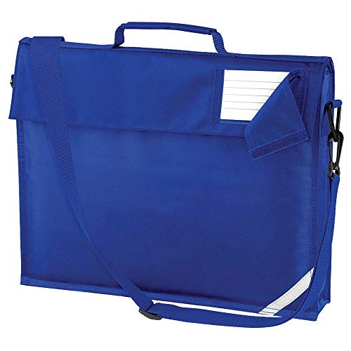 Quadra Unisex Junior Colours School Book Bag with Strap One Size