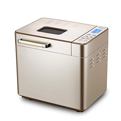 WXHHH Brotbackautomat,Vollautomatischer Brotbackmaschinen 25 in 1 Programmierbar 15 Stunden Delay Timer LCD-Bildschirm Multifunktional Intelligente Brotbackautomat