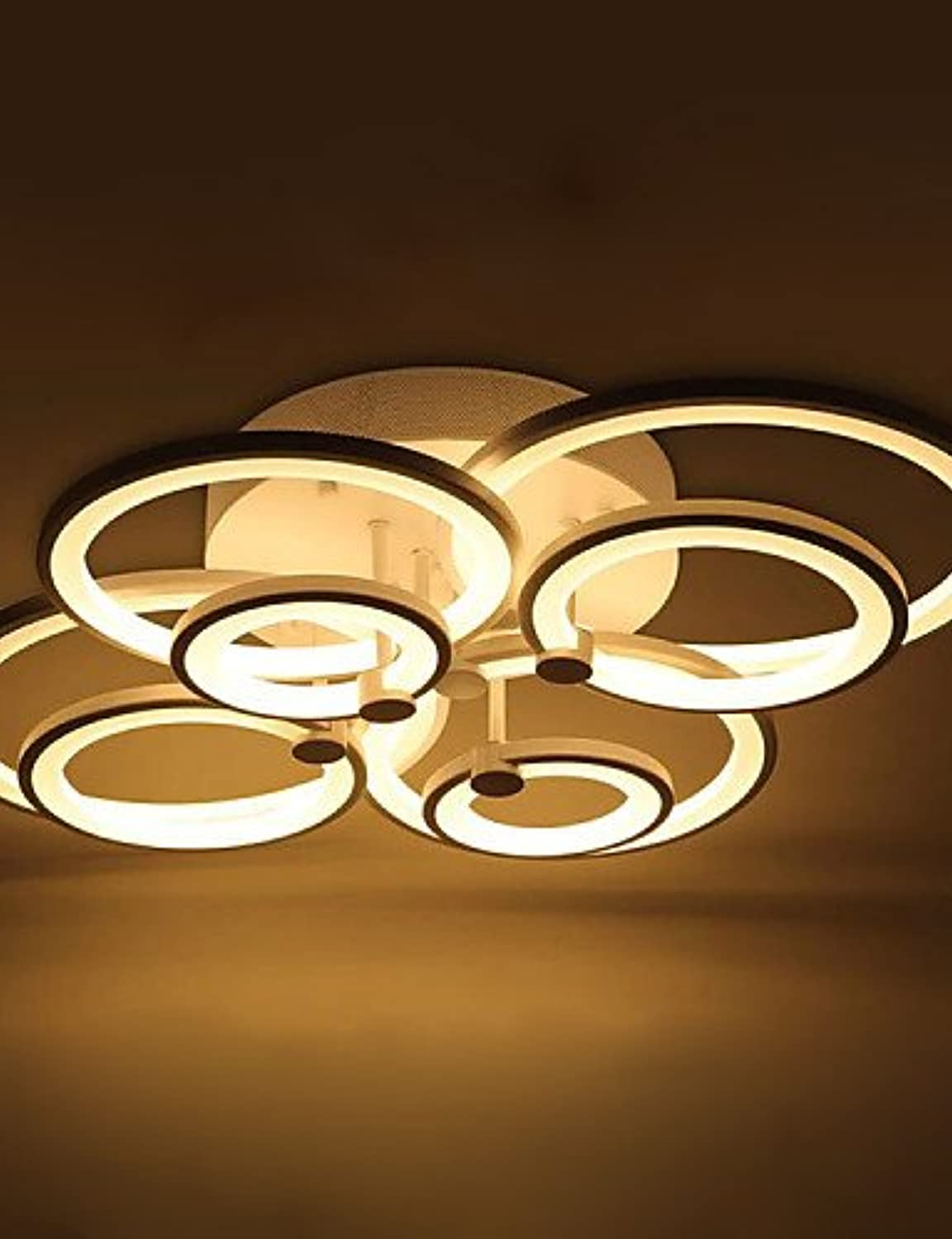 Decorative Modern Acrylic Flush Mount LED Ceiling Lamp Weiß Farbe