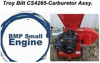 BMotorParts Carburetor Carb for Troy Bilt CS4265 Wood Chipper w/Briggs & Stratton 800 205cc