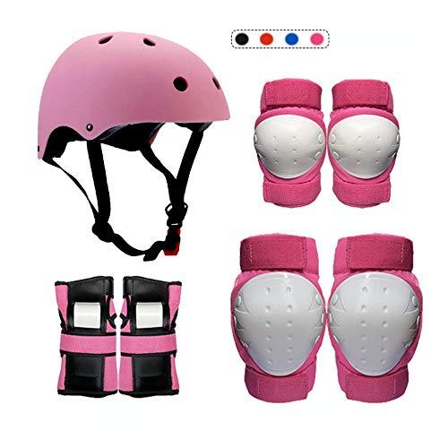 LAYBAY Kinder Knieschoner Set Herren- Und Damenanzüge Kinder Rollschuh Schutzausrüstung Erwachsene Schlittschuhe Rollschuh Balance Bike Skateboard