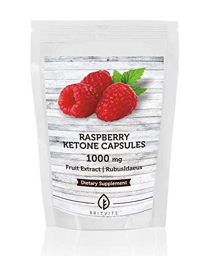 Framboos ketonen Fruit Extract 1000mg Supplement x 180 Capsules