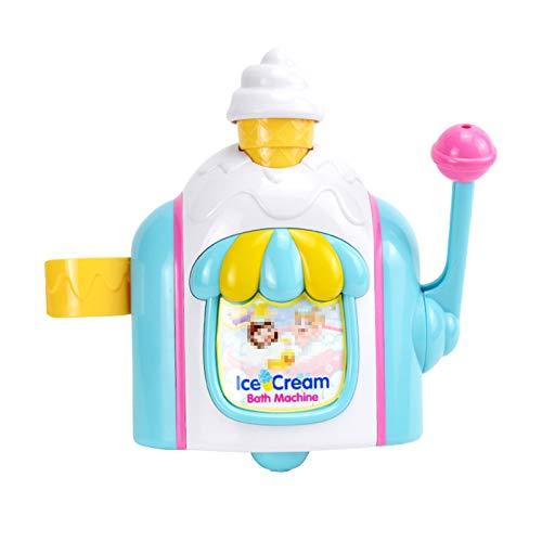 TWW Baño para Niños Agua Joy Helado Baño Helado Máquina De Burbujas Baby Shower Gel Baño Juguete Niño Niña Jugar Espuma