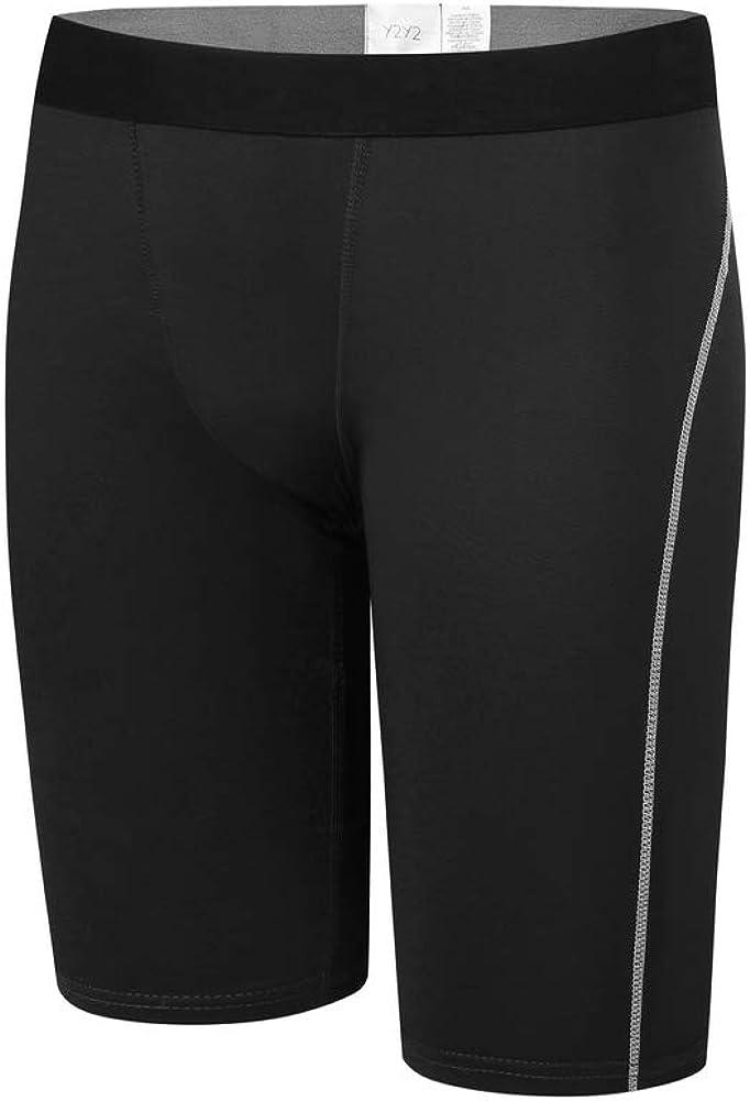 Y2Y2 Men's Training Underwear 9-Inch Boxer Briefs