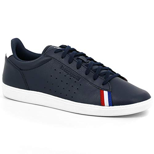 Le Coq Sportif COURTSTAR Sport, Zapatillas para Hombre, Azul (Dress Blue/Optical White Dress Blue/Optical White), 40 EU