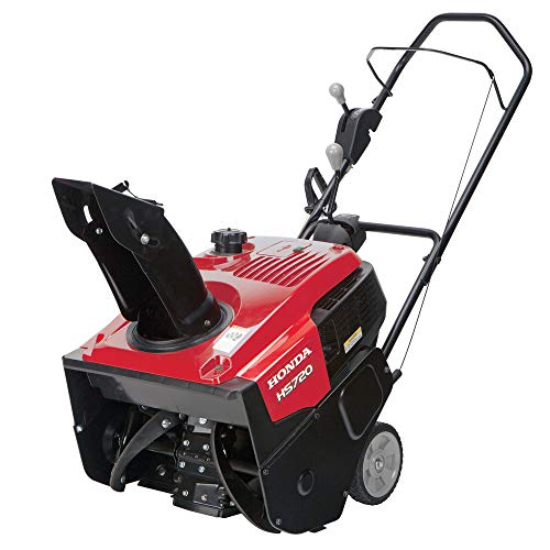 Honda 659770 20 in. 187cc Single-Stage Snow Blower with Dual...
