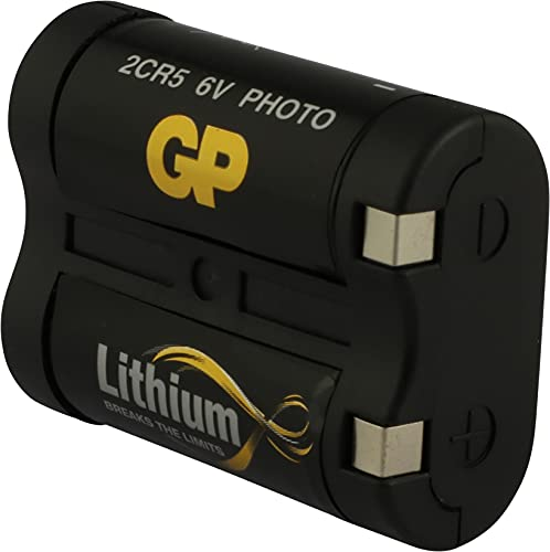 GP Pile photo Lithium compatible EL2CR5BP/DL245 6 V