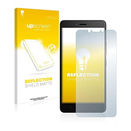 upscreen Entspiegelungs-Schutzfolie kompatibel mit Lenovo K6 Note (5.5) – Anti-Reflex Bildschirmschutz-Folie Matt