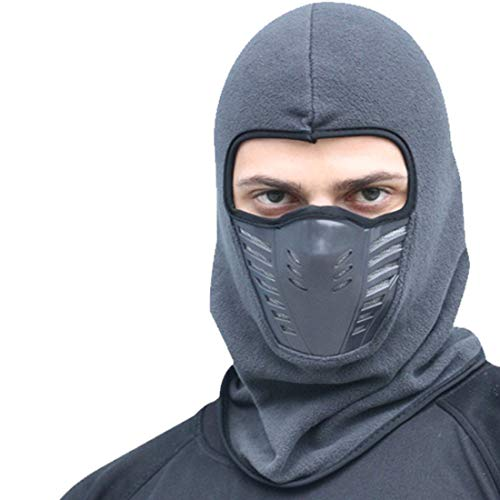 Y.R.Lover Winter Windproof Balaclava Ski Mask Fleece Snow Face Cover Bandanas for Snowboarding Motorcycle Riding