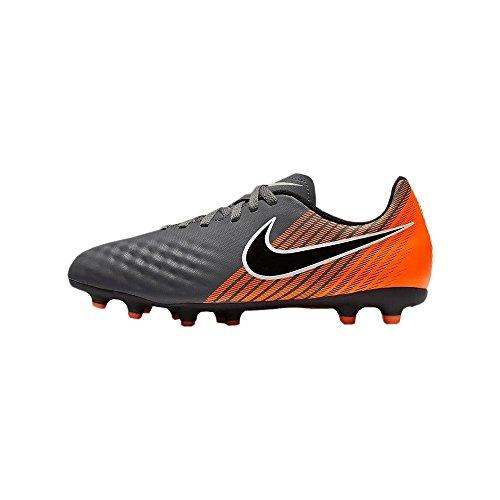 Nike Kids 'Magista obra 2Club FG Fußball Klampen, grau/orange, 5.5 M US