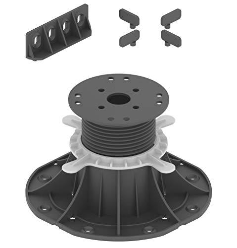 70-120mm Adjustable Pedestals Riser for Decking (Box of 25pcs)