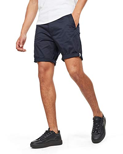 G-STAR RAW Bronson 1/2 Pantalones Cortos, Azul (Mazarine Blue 4213), W38/L32 (Talla del Fabricante: 29) para Hombre