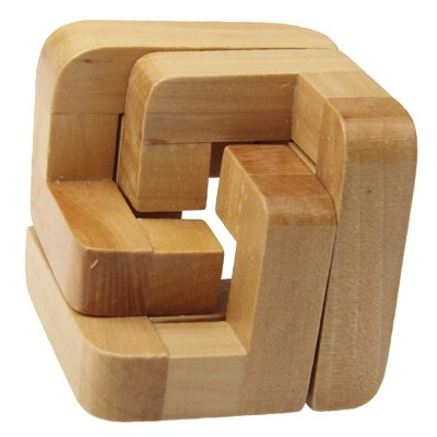 MYHH Adult Educational Wooden 3D Interlock-Intelligenz-Spielzeug.