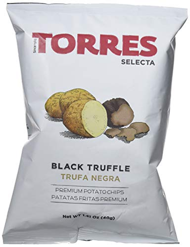 Torres Patatas Fritas con Trufa Negra - 20 Bolsas