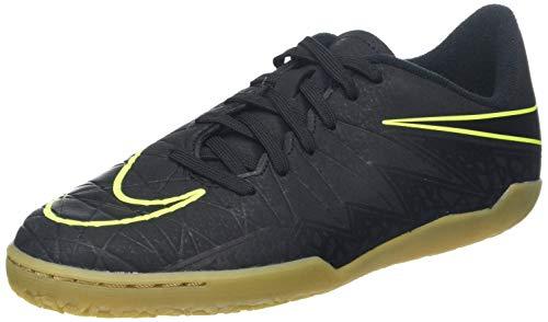 Nike Unisex-Kinder Hypervenomx Phelon II IC JR 749920 Fußballschuhe, Schwarz, 37.5 EU