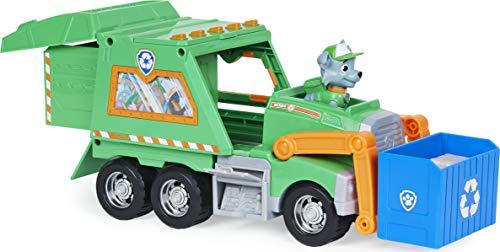 PAW Patrol Paw Patrol Rockys Deluxe-Recycling-Truck mit Sammelfigur und 3 Werkzeugen