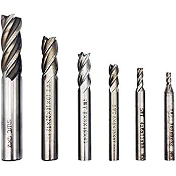 Annadue Central Milling for Stainless Steel for Circuit Boards High Hardness Cemented Carbide End Mill Bits