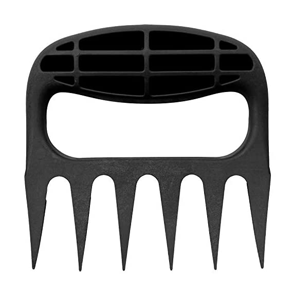 Bear Paws Cultivator Claw - Ergonomic Gardening Tools - Hand Held Garden Tool - Hand Rake - Strong Nylon Weeder - Manual… 2 ERGONOMIC - The Bear Paws Cultivator Claw design allows for natural movement which reduces hand and arm fatigue. Because your fingers are free, picking out rocks and weeds without ever setting it down is a breeze SHARP CLAWS: Great for breaking up soil, weeding and removing unwanted debris in your flower bed or garden DURABLE - Traditional metal hand tools are replaced with our tough and ultra strong nylon. For a durable gardening tool, you can't beat the Cultivator Claw garden tool