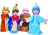 Set 4 Marionetas Érase una vez - Pinocho