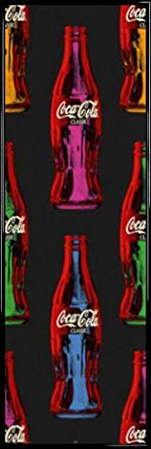 1art1 Coca Cola Póster Puerta Marco Plástico - Popart