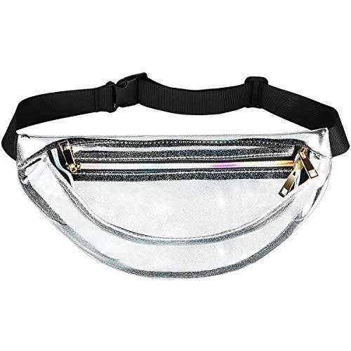 FENICAL Bolso cintura transparente cintura ejecutiva