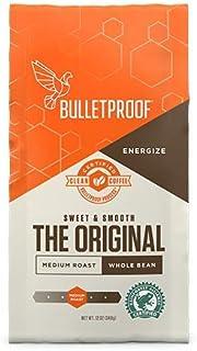 Bulletproof The Original Whole Bean Coffee, Premium Medium Roast Gourmet Organic Beans,..