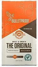 Bulletproof The Original Whole Bean Coffee, Premium Medium Roast Gourmet Organic Beans, Rainforest Alliance Certified, Perfect for Keto Diet, Upgraded Clean Coffee (12 Ounces).