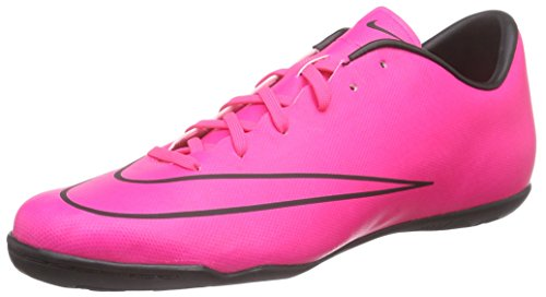 Nike Mens Mercurial Victory V IC Hyper Pink/Hyper Pink/Blk/Blk Indoor Soccer Shoe 10 Men US