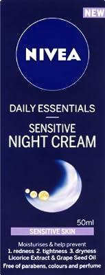 NIVEA Daily Essentials Sensitive Night Cream 50 ml from Beiersdorf UK Ltd