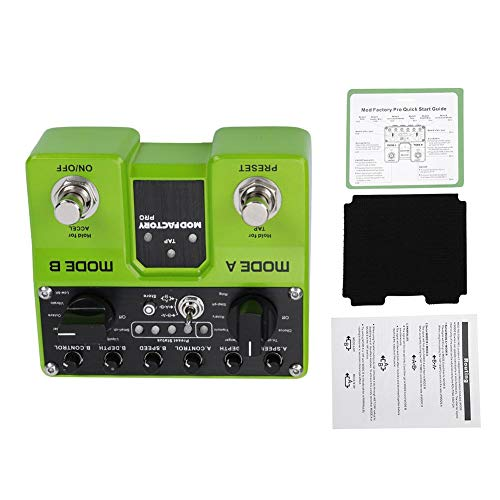 TAP set speed ACCEL effect acceleration 16 Modules Effects Guitar Effects, Modulation Effect Pedal, for Electric Guitar Enthusiast