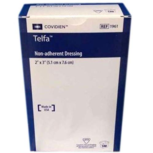Telfa Non Adherent Dressing Pads - 2 Inches X 3 Inches - 100 Ea