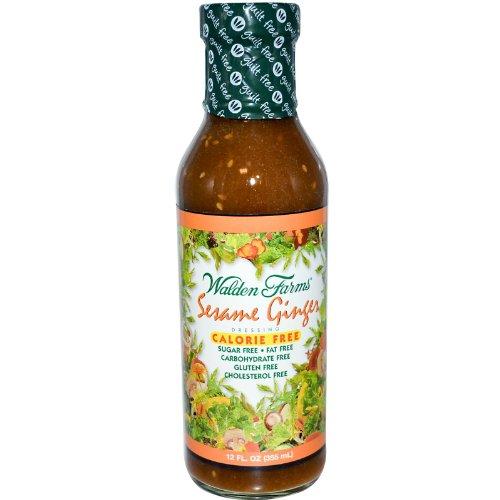 Walden Farms Sesame Ginger Salad Dressing (6 x 12 OZ)
