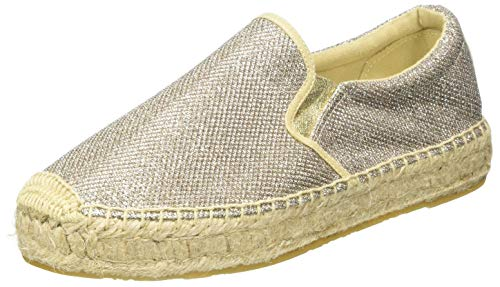 Replay Damen NASH - Lawton Espadrilles, Grau (Platin 45), 37 EU