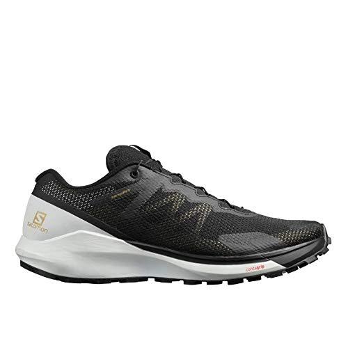 Salomon Sense Ride 3, Zapatillas de Running para Hombre, Negro/Blanco/Negro (Black/White/Black)