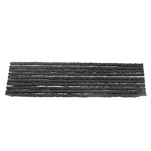 1994 50 Piezas de Tiras de Goma para Cuerdas de reparación de neumáticos, Kit de reparación de neumáticos, para Reparar neumáticos Perforados, para Reparar neumáticos de Goma sin cámara para
