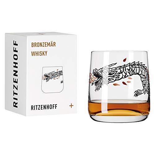 RITZENHOFF 3548014 Bronzemär #5 - Vaso de whisky (cristal, 402 ml)