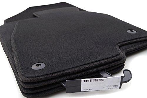 Fußmatten 6 Kombi GJ GL Passform Automatten Set, Velours, Original Qualität, 4-teilig, Schwarz