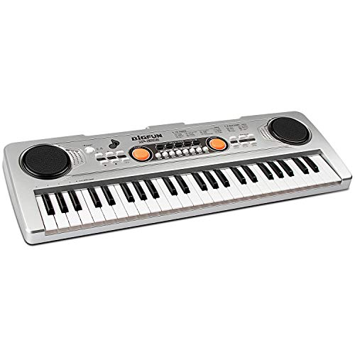Lowest Price! aPerfectLife 49 Keys Piano Keyboard for Kids Multifunction Portable Piano Electronic K...