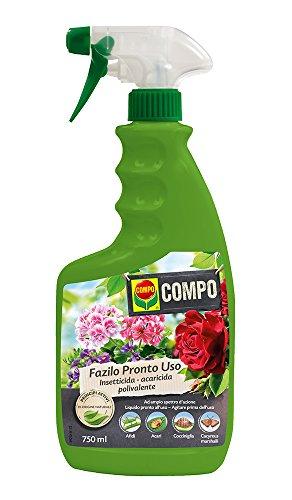 COMPO Fazilo Pronto Uso PFnPO, Insetticida Acaricida Polivalente, Per Piante Ornamentali, Liquido...