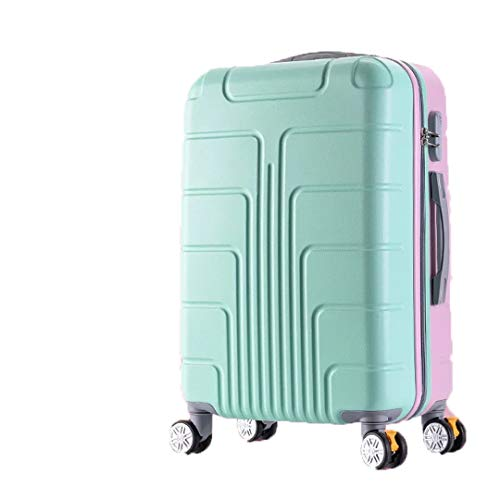 Trolley Luggage Bag Female Suitcase Korean Version Luggage Sets with Handbag Women Travel Bag with Wheels 20/24 Inch Style as shown2 26'